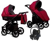 NOWOŚĆ Wózek 3w1 Lonex First (spacerówka + gondola + fotelik Maxi Cosi Cabrio) 2020 KURIER GRATIS