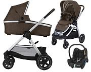 PROMOCJA Maxi Cosi Adorra 3w1 (spacerówka + gondola Oria + fotelik Maxi Cosi Cabrio) Brown 2019 KURIER GRATIS