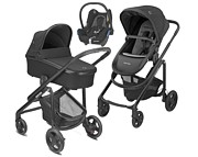 PROMOCJA Maxi Cosi Lila CP 3w1 (spacerówka + gondola Oria + fotelik Maxi Cosi Cabrio) 2020 KURIER GRATIS