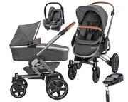 Maxi Cosi Nova 4(spacerówka+gondola Oria+fotelik Cabrio+baza Familyfix) KURIER GRATIS