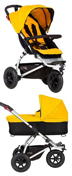 2w1 Mountain Buggy Swift (spacerówka+ gondola) 2018 KURIER GRATIS