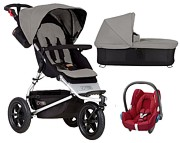 Mountain Buggy Urban Jungle 3w1 2018 (spacerówka +gondola+ fotelik Maxi Cosi Cabriofix)KURIER GRATIS