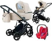 WYPRZEDAŻ! Milu Kids Atteso 3w1 (spacerówka + gondola + fotelik Maxi Cosi Cabriofix red orchid) kolor 03 2020 KURIER GRATIS