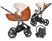 Milu Kids Starlet Eko 3w1 (spacerówka + gondola + fotelik Maxi Cosi Cabrio) 2020 KURIER GRATIS