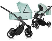 Milu Kids Atteso Ledo 2w1 (spacerówka + gondola) 2021 KURIER GRATIS