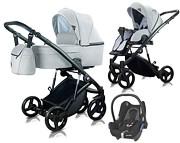 Milu Kids Atteso 3w1 (spacerówka + gondola + fotelik Maxi Cosi Cabriofix) 2020 KURIER GRATIS