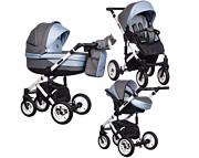 Wózek Paradise Baby Euforia Comfort Line (spacerówka + gondola + fotelik Kite z adapterem) 2020  KURIER GRATIS TANIEJ DO 31.12