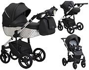 Paradise Baby Euforia Premium 3w1 (spacerówka + gondola + fotelik z adapterem) 2021 KURIER GRATIS
