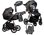 Paradise Baby FX 4w1 (spacerówka + gondola + fotelik Maxi Cosi Cabrio + baza Familyfix) 2021 KURIER GRATIS