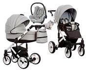 Wózek Paradise Baby Euforia (spacerówka + gondola + fotelik Maxi Cosi Cabrio) 2019  KURIER GRATIS TANIEJ DO 31.12