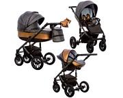 Wózek Paradise Baby Euforia (spacerówka + gondola + fotelik Kite z adapterem) 2019  KURIER GRATIS TANIEJ DO 31.12