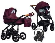 Wózek Paradise Baby Magnetico (spacerówka + gondola + fotelik Maxi Cosi Cabrio) 2019  KURIER GRATIS TANIEJ DO 31.12