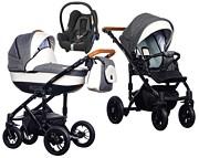 Wózek Paradise Baby Melody (spacerówka + gondola + fotelik Maxi Cosi Cabrio) 2019  KURIER GRATIS TANIEJ DO 31.12