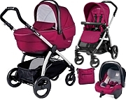Peg-Perego Book Plus Sportivo & Modular 2015 (spacerówka Pop Up +gondola +fotelik+ torba) GRATIS KURIER