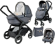 Peg-Perego Book Plus Completo & Modular 2015 (spacer�wka Pop Up +gondola +fotelik+ torba) kol. Denim GRATIS KURIER