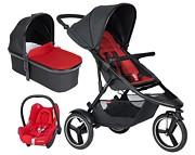 PROMOCJA Phil&Teds Dash 3w1 (spacerówka + gondola + fotelik Maxi Cosi Cabriofix + dodatkowe siedzisko) 2020 KURIER GRATIS