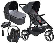 PROMOCJA Phil&Teds Dash 4w1 (spacerówka + gondola + Maxi Cosi Cabriofix + baza Familyfix + dodatkowe siedz) 2020 KURIER GRATIS