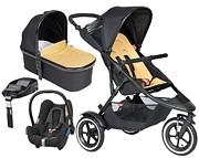 PROMOCJA Phil&Teds Sport 4w1 (spacerówka + gondola + Maxi Cosi Cabriofix + baza Familyfix + dodat. siedzisko) KURIER GRATIS