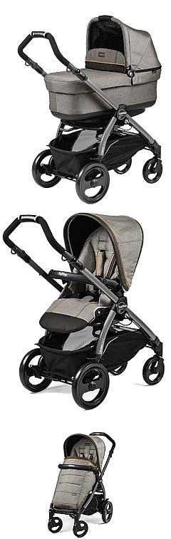 2w1 Peg-Perego Book 51 Completo 2018 (spacerówka +gondola POP UP) kol Luxe Grey KURIER GRATIS*10% taniej