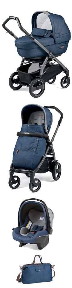 Peg-Perego Book 51S Completo &Modular Urban Collection 2018 (spacerówka +gondola Elite +fotelik+torba) KURIER GRATIS*10% taniej