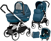 Peg-Perego Book Plus 51 Completo & Modular 2016 (spacer�wka Pop Up+gondola+fotelik+torba) GRATIS KURIER