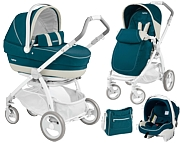 Peg-Perego Book Plus Pure 3w1 Completo & Modular 2015 (spacerówka Pop Up +gondola +fotelik+ torba) GRATIS KURIER