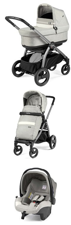 Peg-Perego Book S New 2019 (spacerówka+ gondola Pop Up+fotelik Viaggio SL) Luxe Line KURIER GRATIS