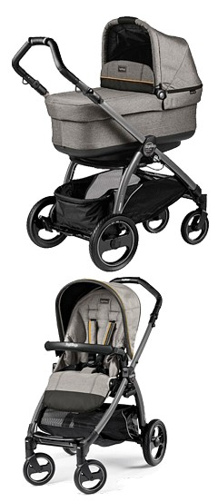 2w1 Peg-Perego Book S Completo 2018 (spacerówka +gondola POP UP) kol Luxe Grey KURIER GRATIS*10% taniej