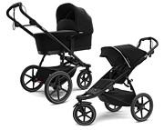Thule Urban Glide 2 wózek do joggingu (spacerówka + gondola) kolor Black on Black 2021 KURIER GRATIS